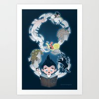 Neverending Art Print
