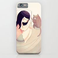 friends iPhone & iPod Cases featuring Best Friends by Nan Lawson