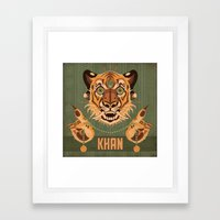 Shere Khan Framed Art Print