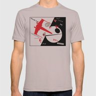 Beat The Empire With A R… Mens Fitted Tee Cinder SMALL