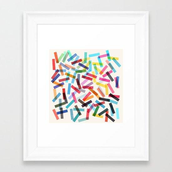 fiesta 2 Framed Art Print