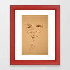 O.l Framed Art Print