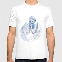 Siren Faerie Mens Fitted Tee White SMALL