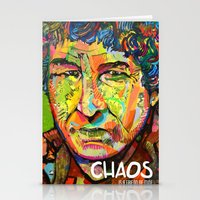 Chaos is a Friend Stationery Cards