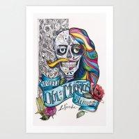 Día de Muertos ANALOG zine Art Print