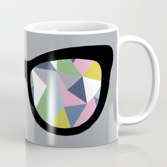 Abstract Eyes Mug