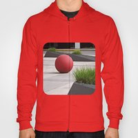 Round and Red Hoody