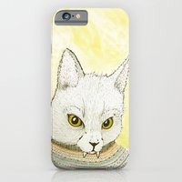 iPhone & iPod Case featuring SWEATER AND ALSO CAT by Michael Todd Berland