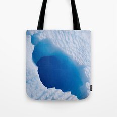 Blue Tunnel Tote Bag