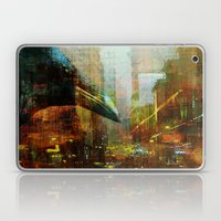Crow In The Geometrical … Laptop & iPad Skin