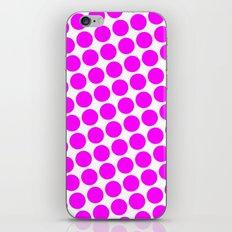 BIG PINK DOT iPhone & iPod Skin