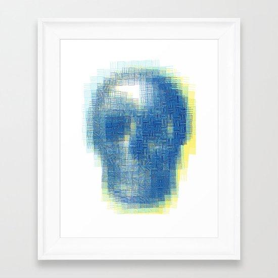 Beauty from inside Framed Art Print