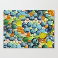 Happy Bubbling Canvas Print