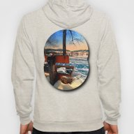 View Into Winter Scenery Hoody