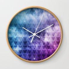 Galaxy Fade Wall Clock