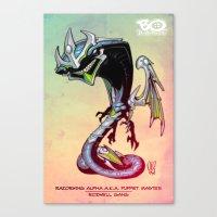Roswell gang - RazorWing Alpha a.k.a. Puppet Master - Villains of G universe Canvas Print
