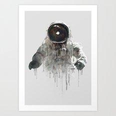 Astronaut II Art Print