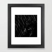 Rain Rain Go Away Framed Art Print