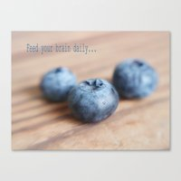 Food for Mind Canvas Print
