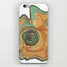 Tree Stump Series 3 - Illustration iPhone & iPod Skin