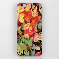 Vivid Abstract Flowers iPhone & iPod Skin