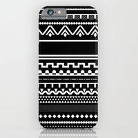 iPhone & iPod Case featuring Graphic_Black&White #6 by Anna Rosa