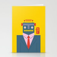 Mr. Roboto Stationery Cards