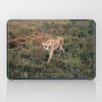 Lone Lion. iPad Case
