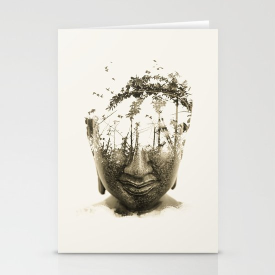 Buddha series - Non-attached  Stationery Card