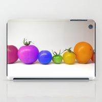 Rainbow Tomatoes iPad Case