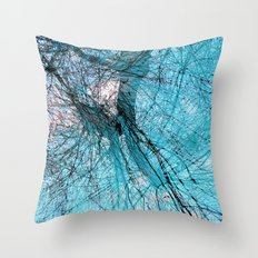 Wire Willows Throw Pillow