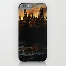Harry Potter - Hogwart's Burning iPhone 6 Slim Case