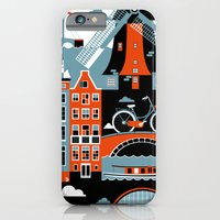 iPhone Cases featuring Amsterdam by koivo