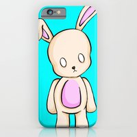 iPhone & iPod Case featuring A Tiny Bunny by Shana-Lee