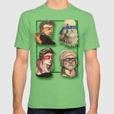 Renaissance Mutant Ninja Artists Mens Fitted Tee Grass SMALL