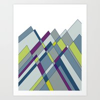 GeoMount Art Print