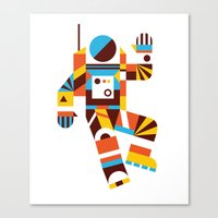 Hello Spaceman 2.0 Canvas Print
