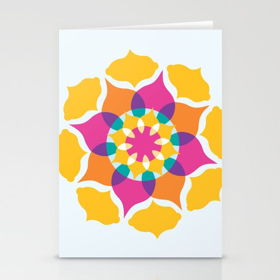 Majestic Swirl Stationery Card