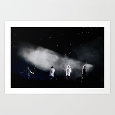 One Direction On Stage in Montreal Art Print