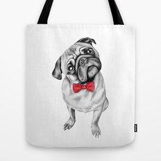 Percy Pug Tote Bag