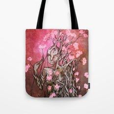Lumen Blossoms Tote Bag