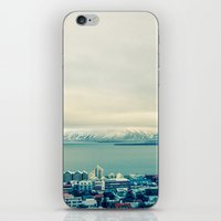 Blue Reykjavik - Iceland iPhone & iPod Skin