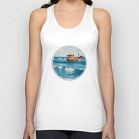 The Boat. Unisex Tank Top