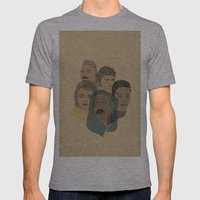 Arabian Nights Portraits Mens Fitted Tee Athletic Grey SMALL