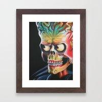 Ack Ack Framed Art Print