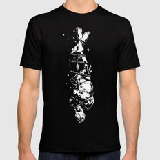 The Drowning Man SMALL Mens Fitted Tee Black