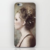 Madame de la Lumière iPhone & iPod Skin