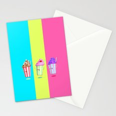Milkshake Day Stationery Cards