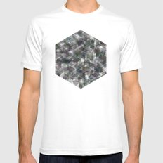 Panelscape - #5 society6 custom generation White Mens Fitted Tee SMALL