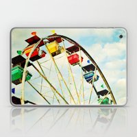 round and round we go Laptop & iPad Skin